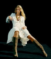 White embroidered wrap dress �110 French Connnection